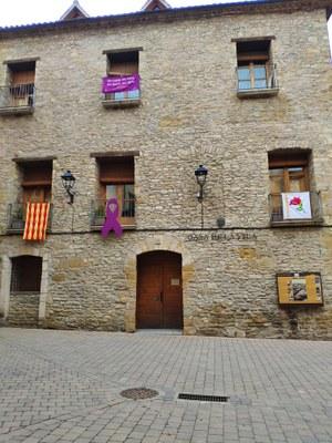 Decoració façana Ajuntament