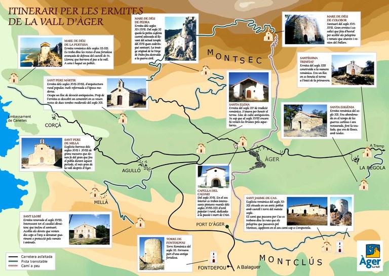 Itinerari de les ermites