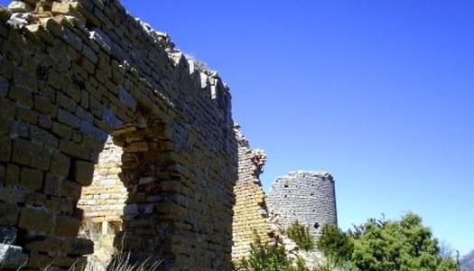 Restes del Castell de Sant Llorenç